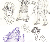 Misc. Characters - Pencil